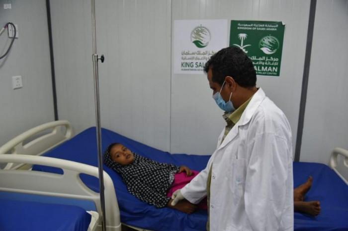 مركز الملك سلمان يقدم خدمات طبية للمئات بحجة