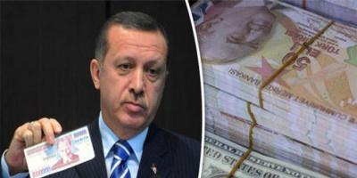 مطامع آردوغان تدمر الليرة التركية