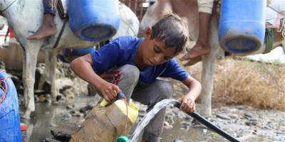 الحرب الحوثية ونقص المياه.. نظرة على رصاص الصنابير