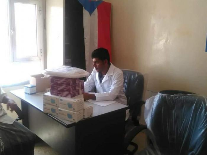 انتقالي ساه يخصص حزم مساعدات للمراكز الطبية
