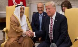 ترامب يمنح أمير الكويت وسام الاستحقاق العسكري