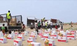 قافلة إنسانية إماراتية تُغيث مخيم العليلي بالخوخة (فيديو)