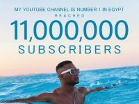 محمد رمضان يحتفل بوصول قناته على يوتيوب لـ 11 مليون متابع