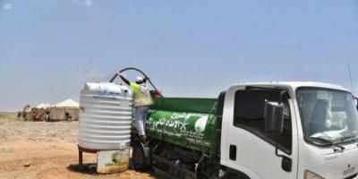 508 آلاف لتر مياه لـ 4 مديريات في حجة