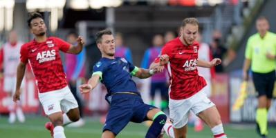التعادل يخيم على مباراة زفوله وألكمار في الدوري الهولندي