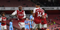 أرسنال يحقق فوزا مثيرا أمام وست هام في الدوري الإنجليزي
