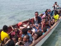 اعتراض قارب على متنه 40 أفريقيا بباب المندب