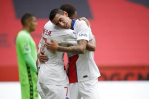 باريس سان جيرمان يهزم نيس بثلاثية في الدوري الفرنسي
