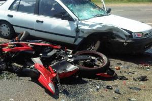 4 مصابين في حادثي تصادم بلحج