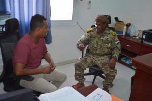 شرطة سقطرى تُعزز الحماية الأمنية لمستشفى خليفة بحديبو (صور)