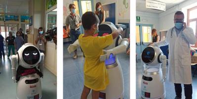 أفيل..روبرت جديد لمساعدة المرضى في إيطاليا
