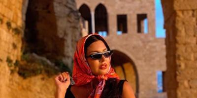 لاميتا فرنجية تخضع لجلسة تصوير جديدة (صور)