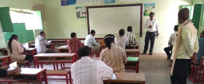 """150 معلما يؤدون اختبارات مشروع """"الزواج الأمن"""""""