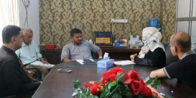 مأمور الشيخ عثمان يطلع على أزمات الصدقة التعليمي