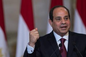 الرئيس المصري: متمسكون بمسار التسوية السياسية في ليبيا