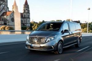 مرسيدس تقرر طرح سيارة EQV الكهربائية خلال فصل الخريف