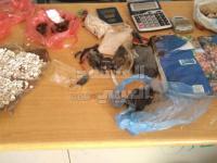 ضبط عصابة إتجار بالمخدرات في لحج (صور)