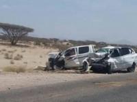 مصرع وإصابة 5 في حادث بمودية