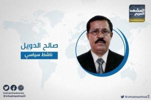 """الدويل لـ""""جباري"""" : مؤسساتكم بيد الحوثي"""