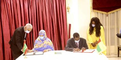 موريتانيا وغينيا توقعان على اتفاقية تعاون في المجال التجاري والصناعي