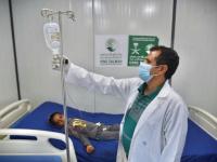 عيادات سعودية تعالج 8998 مريضا في الخوخة