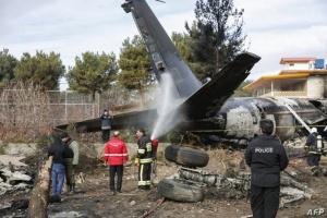 تحطم طائرة عسكرية أوكرانية ومصرع 22 على متنها