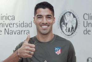 سواريز يجتاز الفحوصات الطبية مع أتلتيكو مدريد