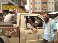 حملة أمنية لإزالة تعديات الباعة بشوارع ردفان