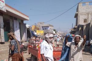 حملة لتنظيف سوق المسيمير بلحج