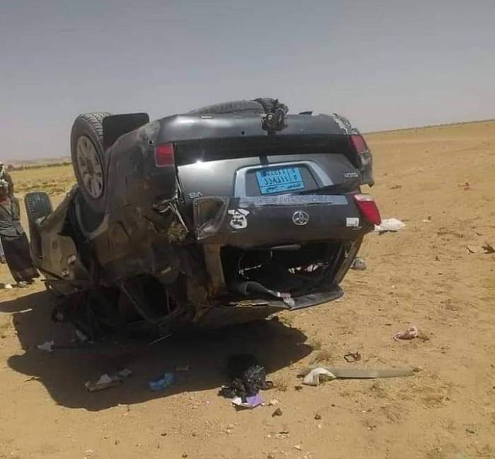 مصرع أسرة قيادي بـ الانتقالي في حادث سير