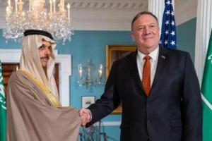 وزيرا الخارجية السعودي والأمريكي يبحثان الملفات الإقليمية والدولية