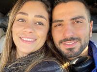 محمد الشرنوبي يهنئ زوجته بعيد ميلادها