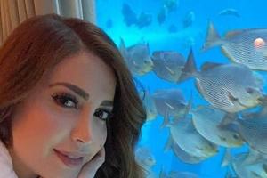 نسرين طافش تسترجع ذكريات رحلتها لدبي (فيديو وصور)