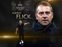 هانزي فليك أفضل مدرب في أوروبا