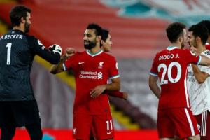 صلاح يقود ليفربول أمام أرسنال في كأس الرابطة