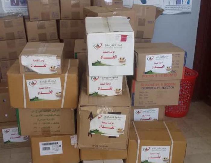 مساعدات طبية لـ 15 وحدة صحية في تبن