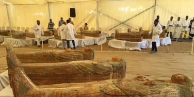 بعد اكتشاف 59 تابوتاً آثرياً.. مصر تحت مجهر التاريخ