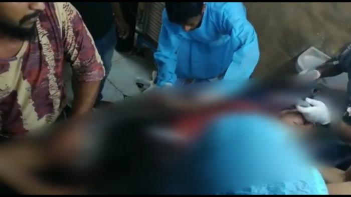 إصابة عامل بقصف حوثي لمجمع أخوان ثابت (فيديو)