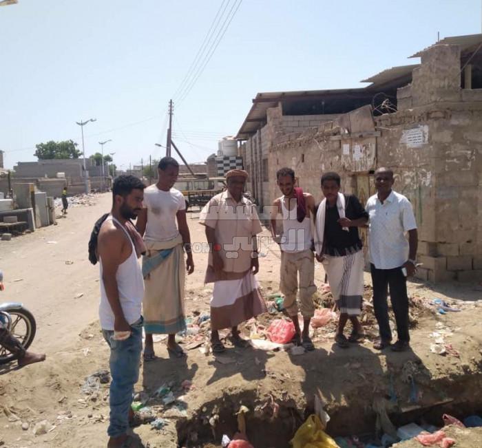 دعوات لاستئناف مشروع الصرف الصحي في الطميسي (صور)