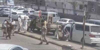 ضبط طقم عسكري اعتدى على مواطن في العاصمة