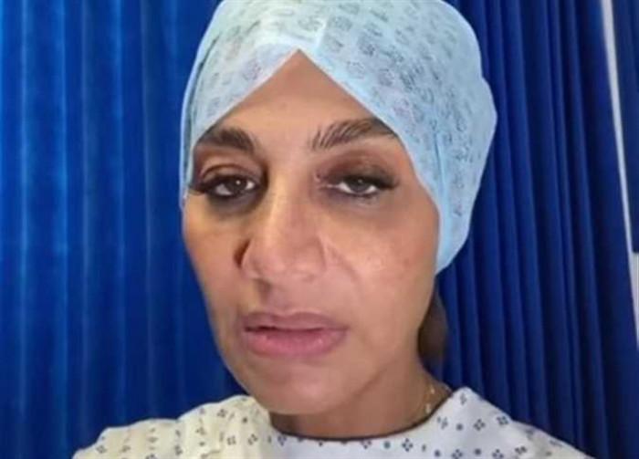 قبل دخولها غرفة العمليات..بسمة وهبة تطلب من جمهورها الدعاء لها (فيديو)