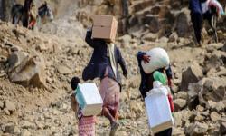 لنقص التمويل والحوثيين.. بدء تسريح عمال إغاثة في صنعاء