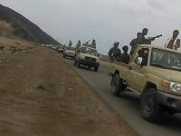 بالصور.. تعزيزات للقوات الجنوبية تصل إلى طور الباحة