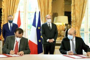 توقيع ثلاث مذكرات للعراق مع فرنسا في النقل والزراعة والتعليم