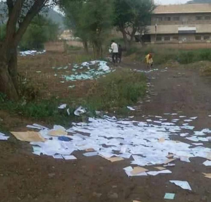 اقتحام مدرسة في تعز للعبث بسجلات الطلاب