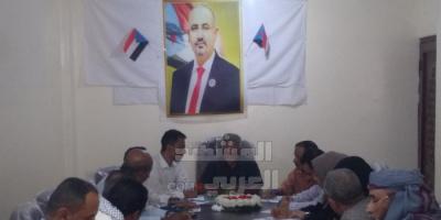 """""""انتقالي لحج"""" يبحث التهديدات الإخوانية والحوثية للمحافظة"""