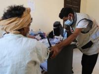 عيادة إماراتية تعالج 154 مريضًا في قصيعر
