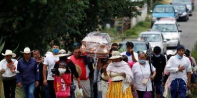 المكسيك تسجل 6612 إصابة جديدة بفيروس كورونا