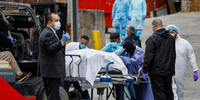 وفيات كورونا في أمريكا تتخطى حاجز الـ221 ألف حالة