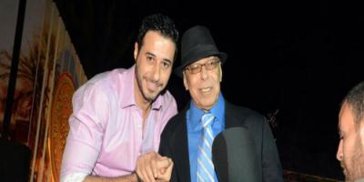 هكذا احتفل أحمد السعدني بعيد ميلاد والده